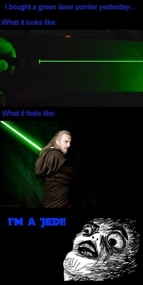 I'm a Jedi!