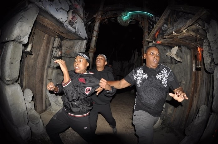 Love haunted house shots