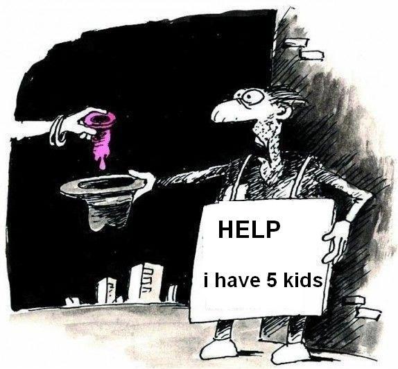 Help me, I have 5 kids