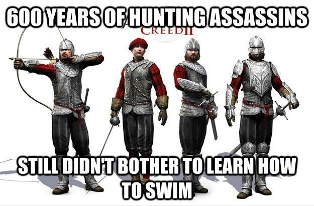 Assassin's Creed Guards
