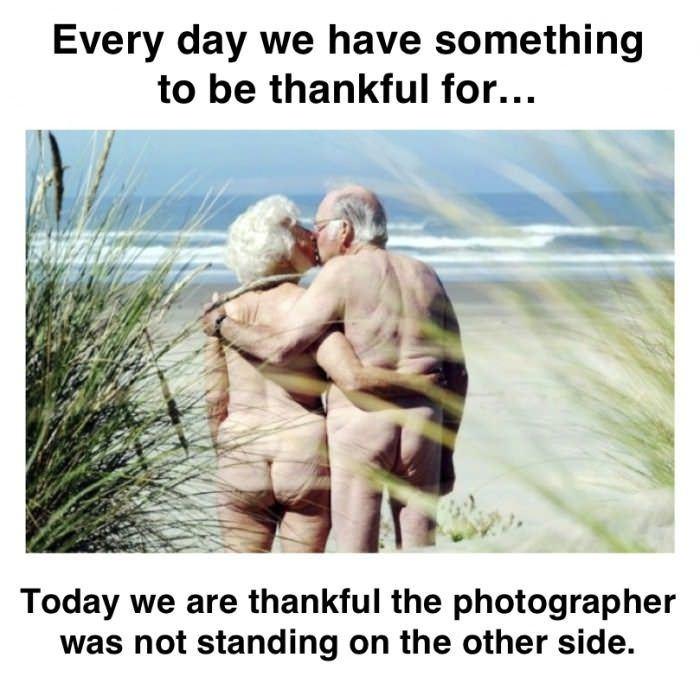 Feel thankful everyday