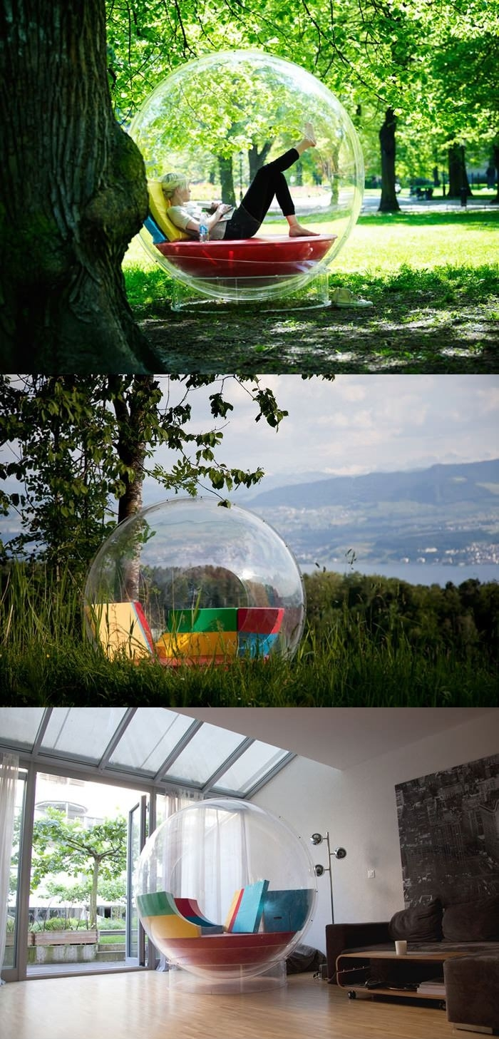 Relax in your own bubble