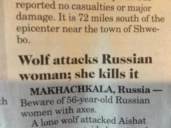 Ohhh, Russia!