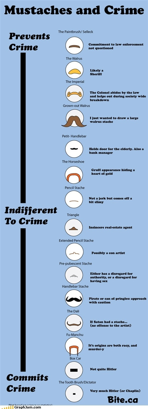 Moustaches & Crime