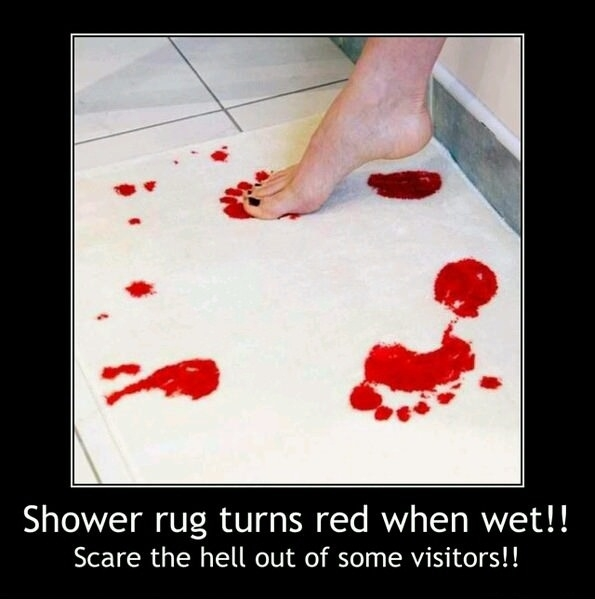 This will scare visitors!