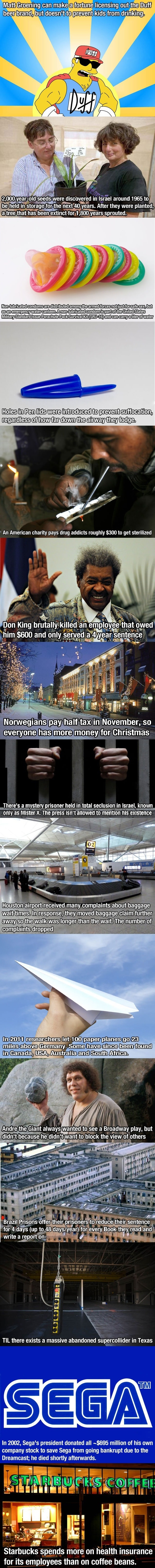 15 Facts you wouldn't believe