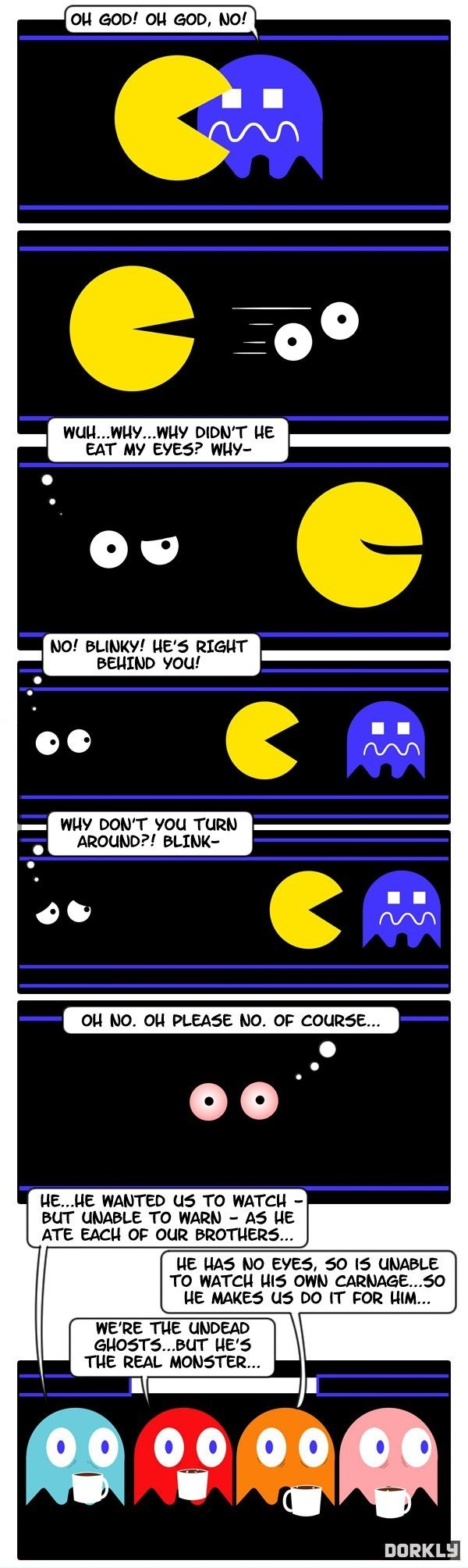Pacman is horrifying