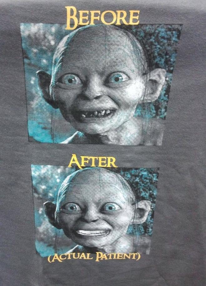 Promotion at dentist
