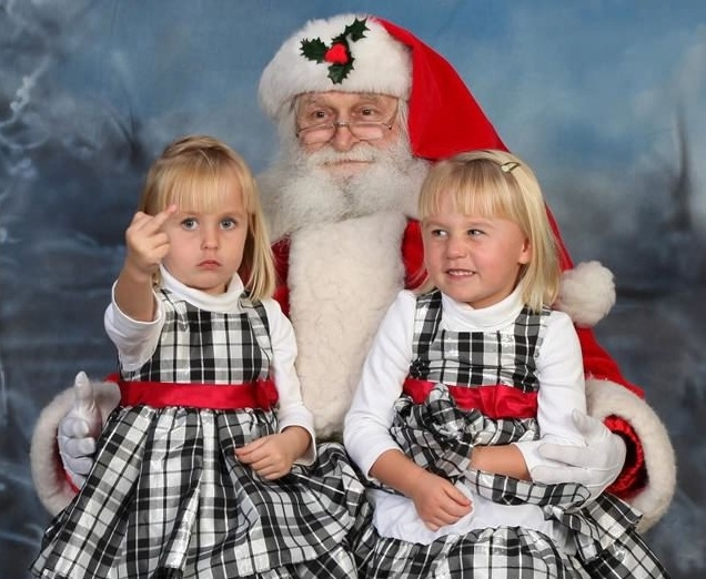 F**k you, Santa!