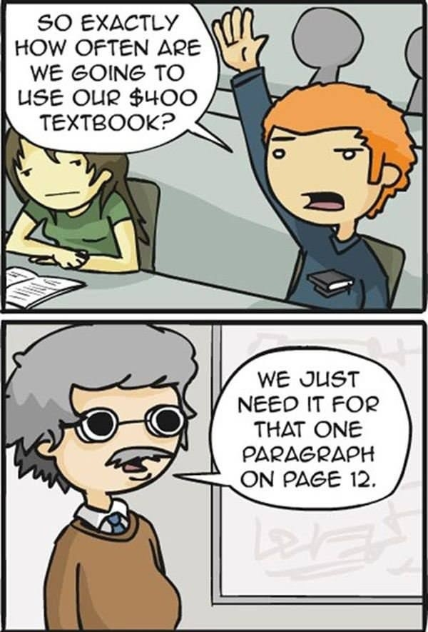 $400 textbook