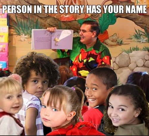 Being famous in 1st grade