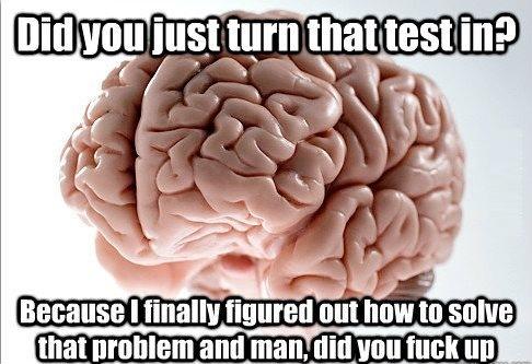 Oh brain!