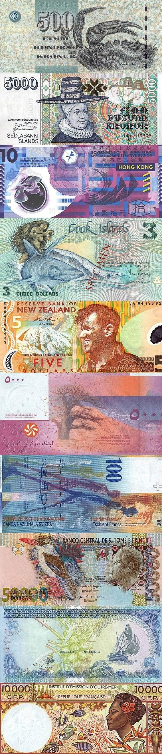 Beautiful Banknotes
