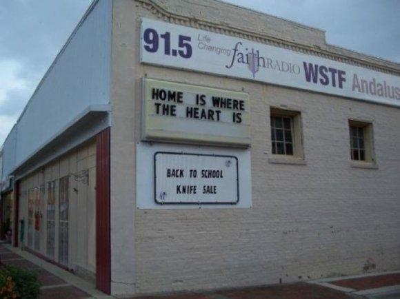 Amusing Shop Signage