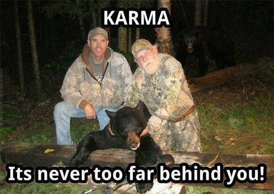 Karma at its best!