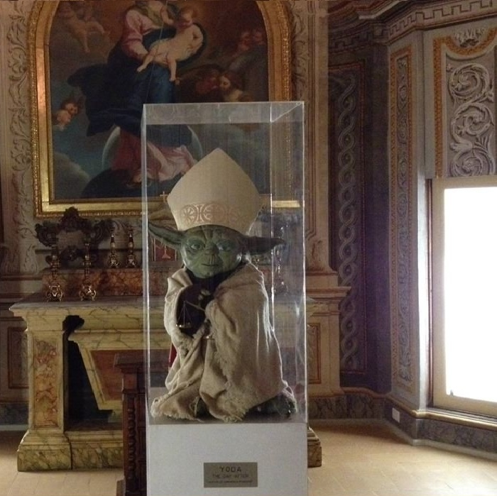 Yoda for the Pope!