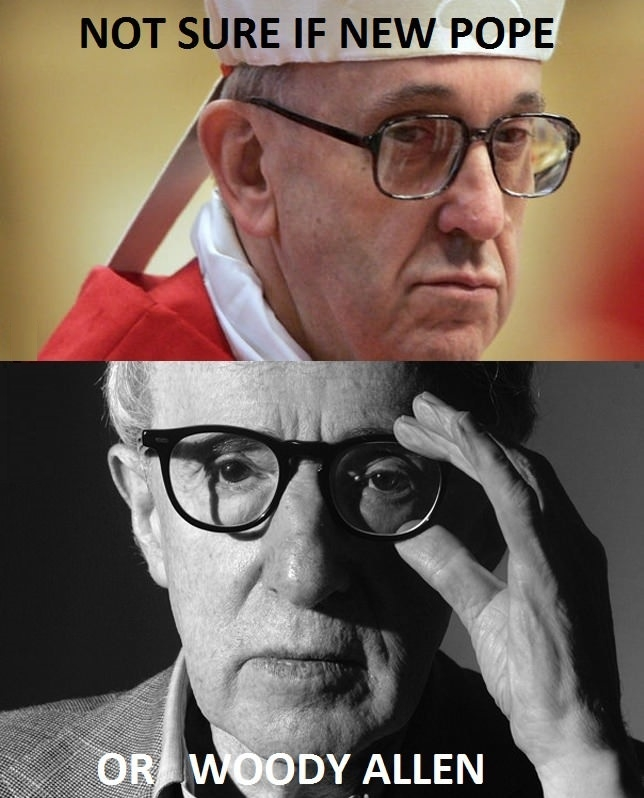 Pope or Woody?