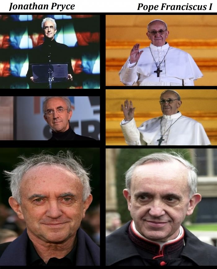 The Pope's doppelgänger