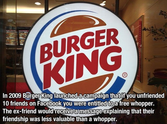 Well played burger king