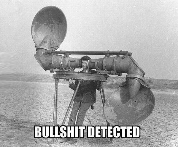 Bullsh*t detector