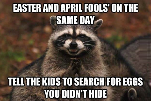 Easter & April Fools' Day