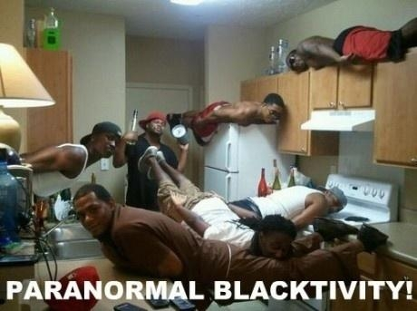 Planking: Paranormal Blacktivity