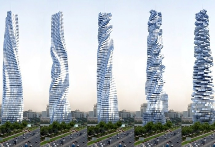 Dubai, rotate your own flat