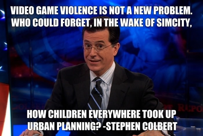 Videogames violence