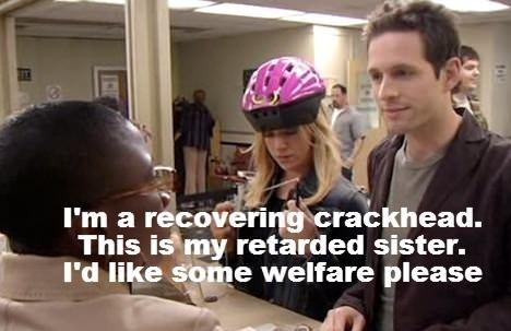 I'm a recovering crackhead