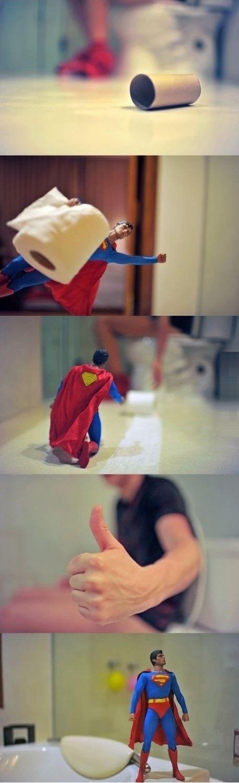 Thank you Superman!