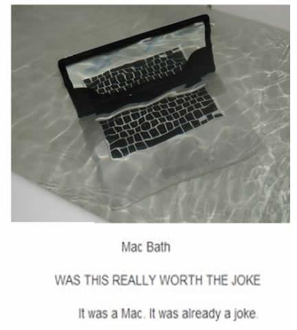A mac joke