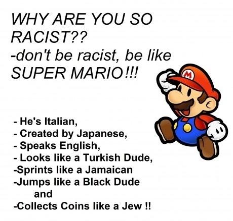 Be Super Mario!