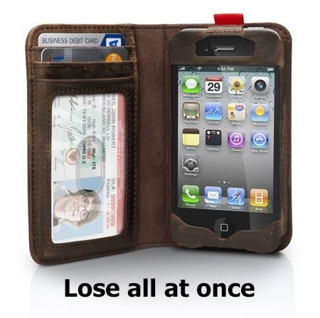 Useless phone case
