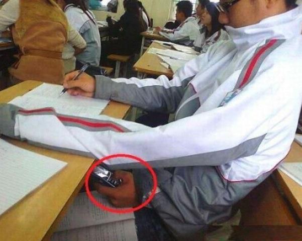 Cheating lvl: 3 Hands