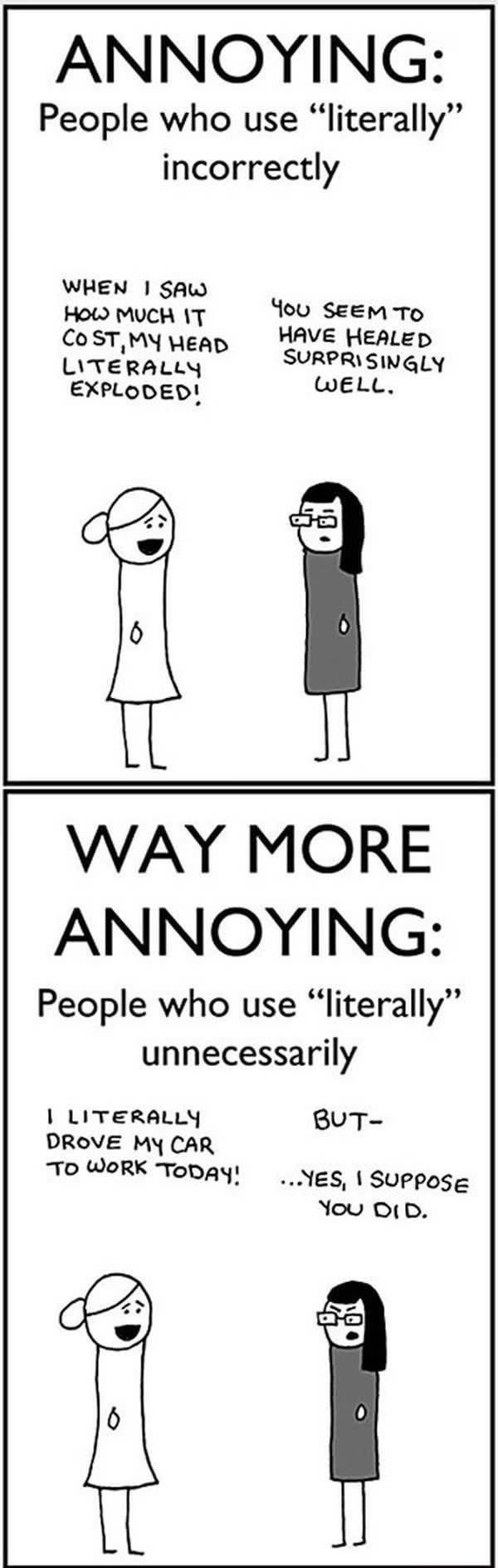 Literally.