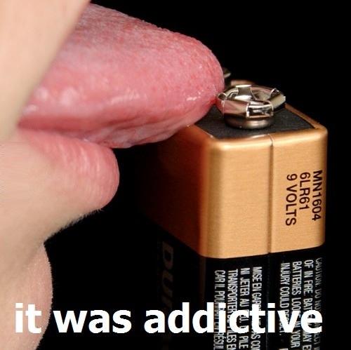 I used to taste power