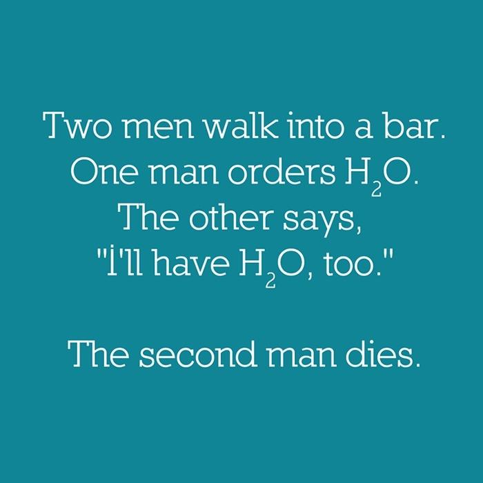 Chemistry Bar Joke