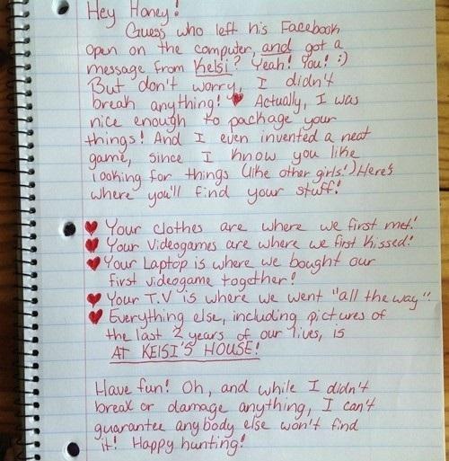 Best break up letter so far