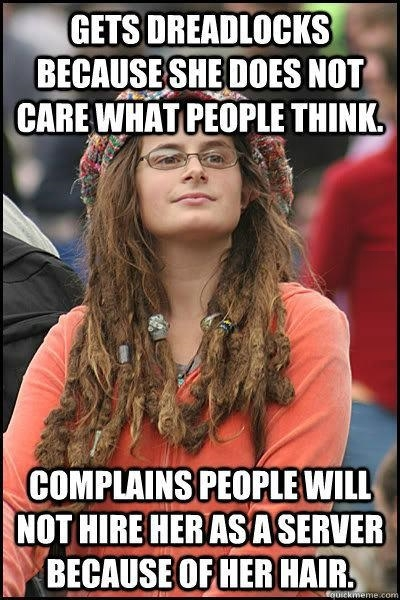 Liberal Hippy Chick