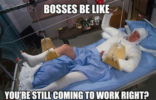 Bosses be like..