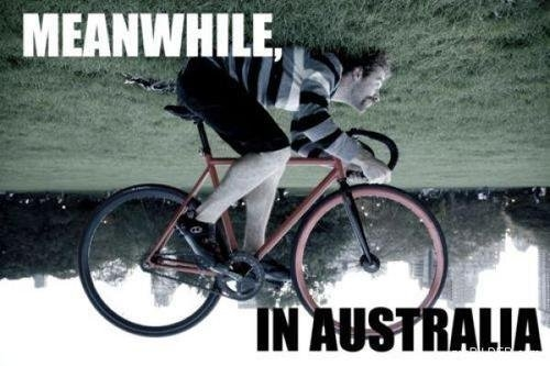 Meanwhile, In Australia..