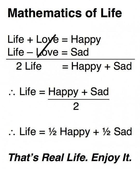 Maths of life