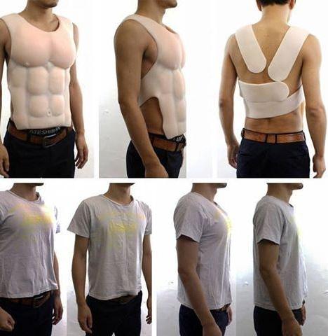 Male push up bra