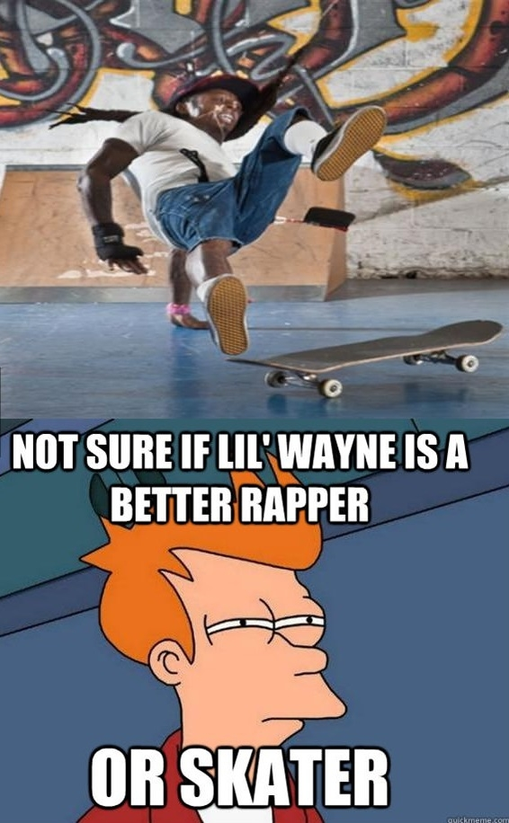 Better rapper or skater?