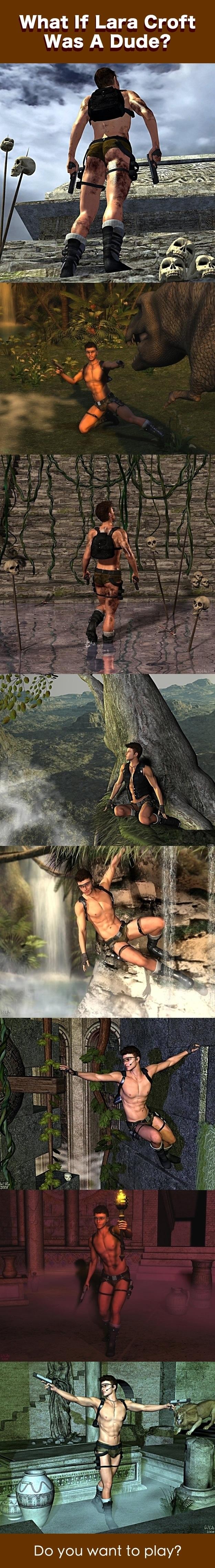 Mr. Lara Croft