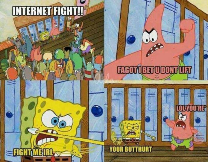 Internet warriors