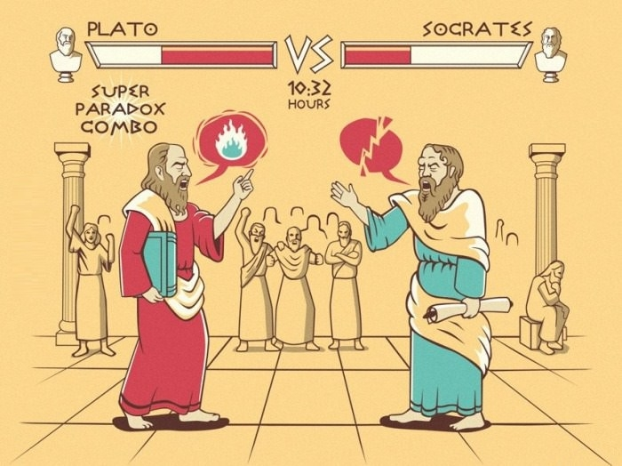 the views of socrates on politics Plato and aristotle on the nature of women nicholas d smith hn the republic,  in his politics,  because of such differences in their views,.