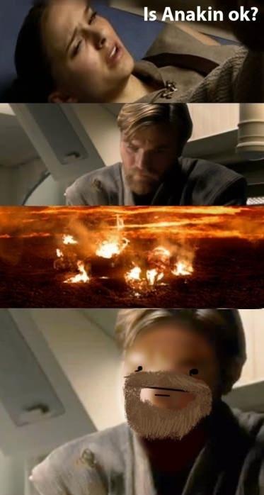 Poker face Obi-Wan