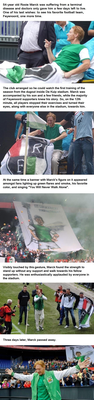 Respect, Feyenoord fans