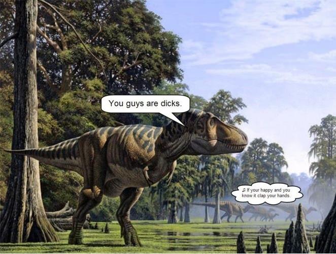 Poor Dinosaur